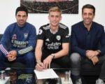 «Арсенал» подписал вратаря сборной Исландии
