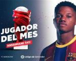 Фати – лучший игрок Ла Лиги в сентябре
