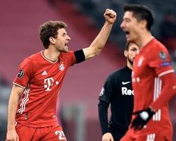 «Бавария» выиграла 16-й матч в еврокубках подряд