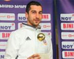 Мхитарян в 10-й раз признан футболистом года в Армении