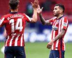 «Атлетико» сохранил трехочковый отрыв от «Реала»